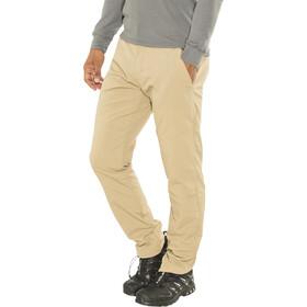 Jack Wolfskin Desert Valley Spodnie Mężczyźni brązowy